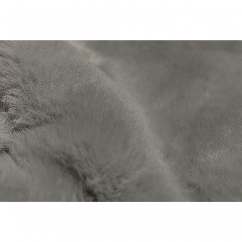 Eco Fur Short Jacket(Saxe)