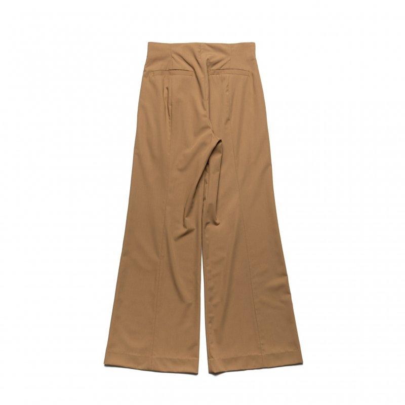 Front Slit Pants(Brown)