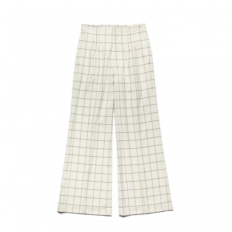 Front Slit Pants(Check)