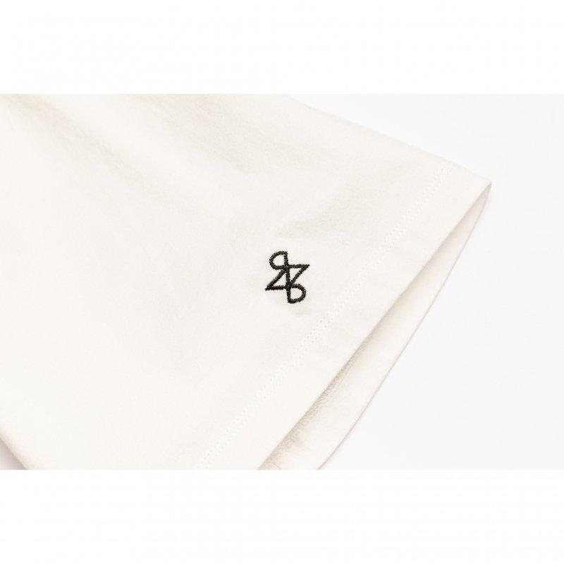 Front Logo Print Big TEE(White)