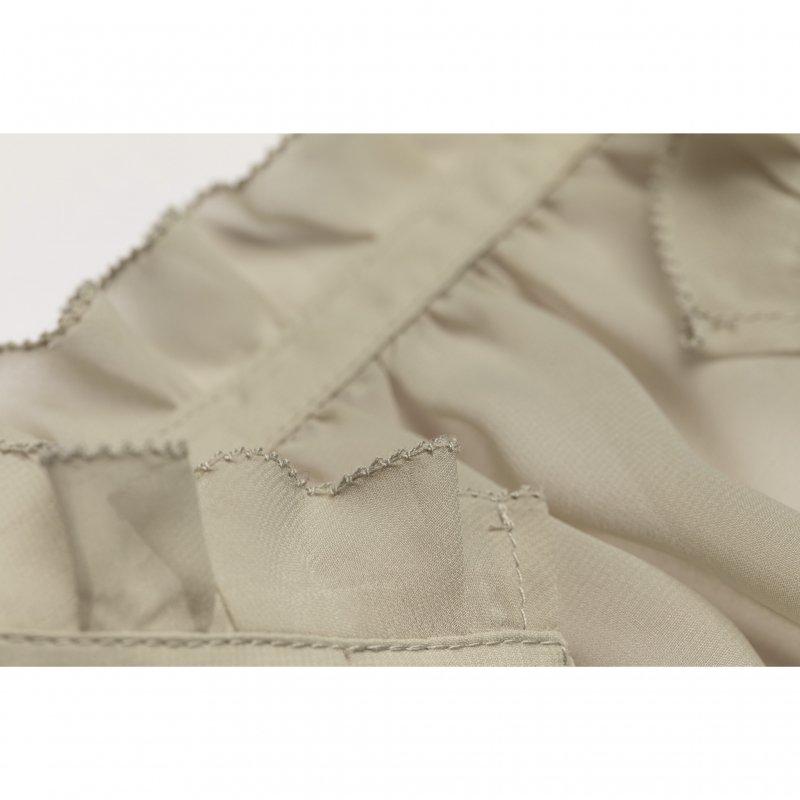 Tuck Tiered Maxi Dress(Mint)