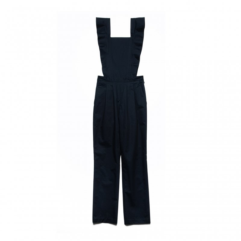 Frill Rompers(Navy)