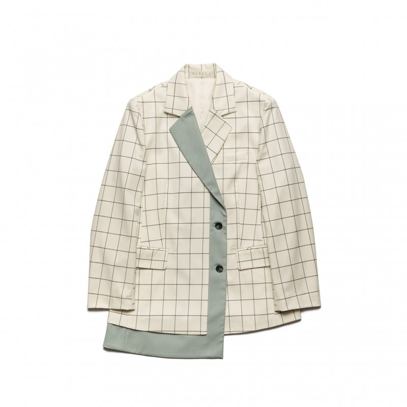 Design Tailored Jacket(Check)