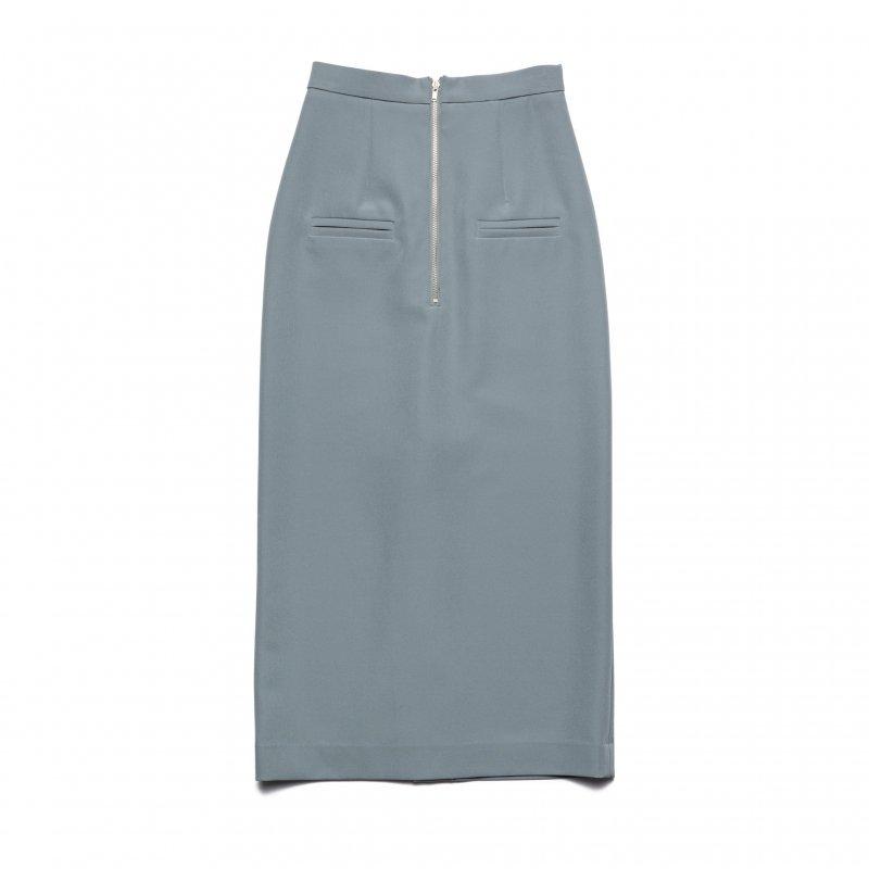 Slit Tight Skirt(Saxe)