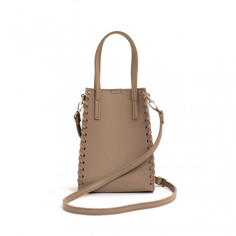 3way Square Bag(Gray-Beige)