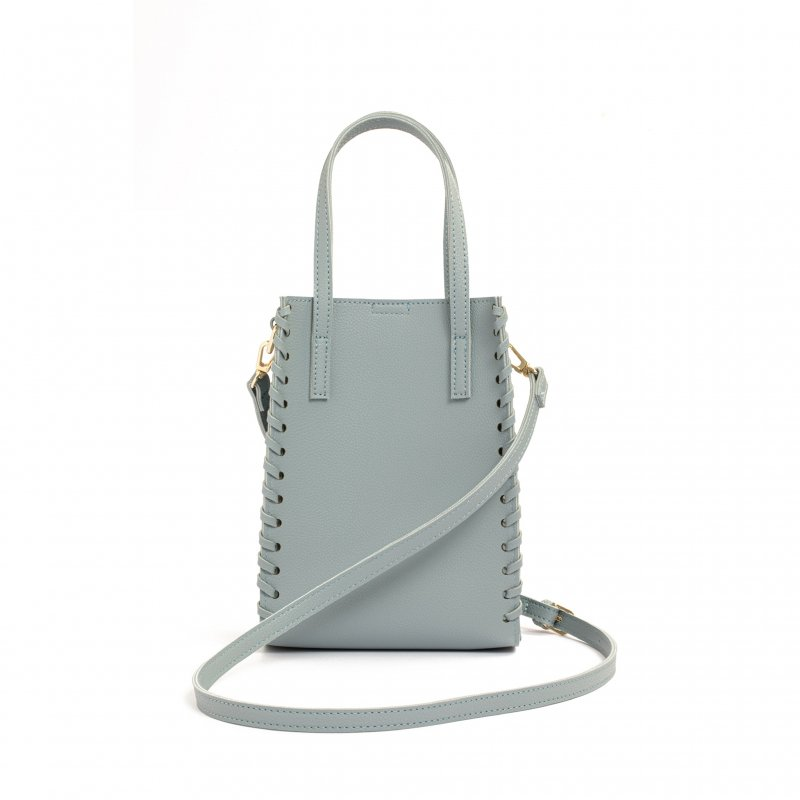 3way Square Bag(Saxe)
