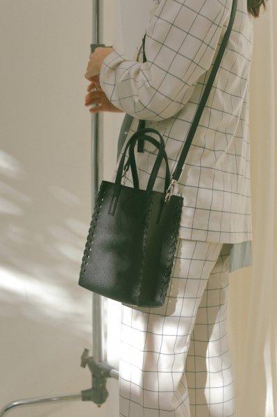 AMYER - 3way Square Bag(Black)