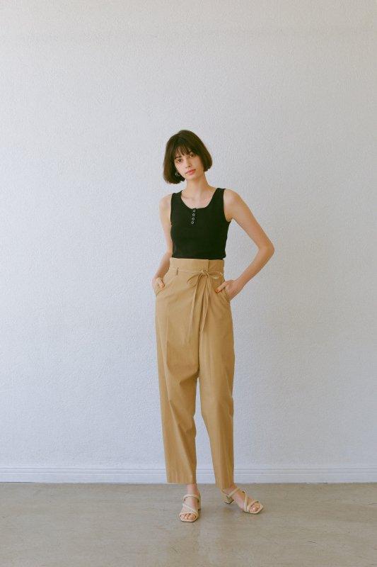 High Waist Pants(Beige)