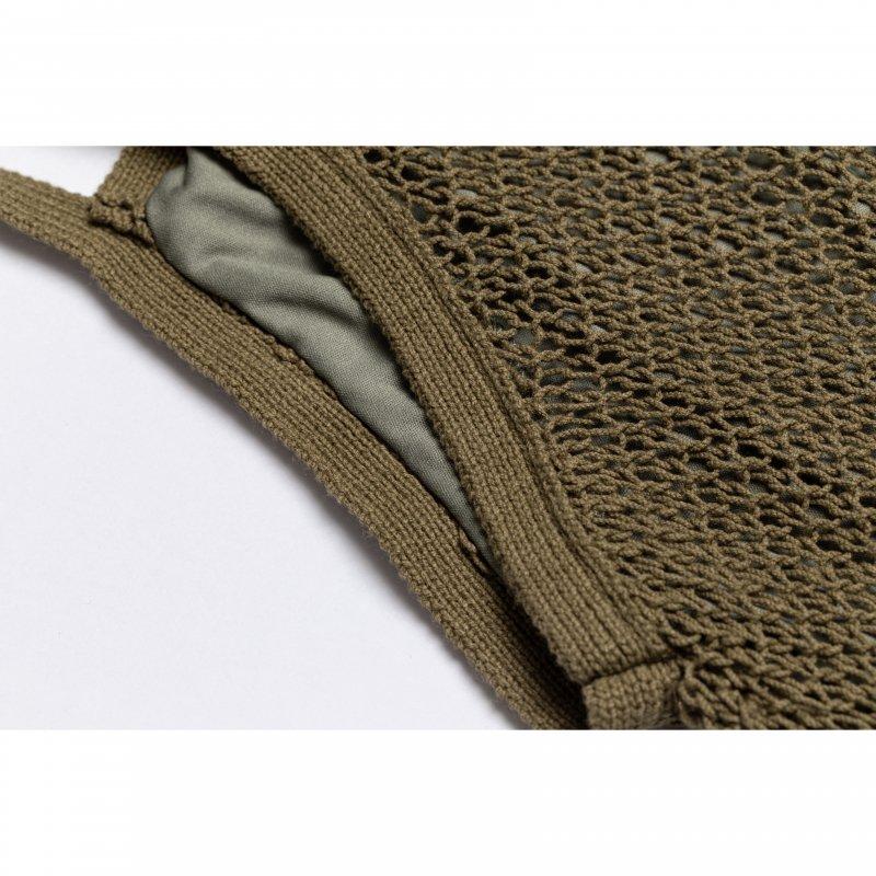 Mesh Knit One-Piece(Khaki)