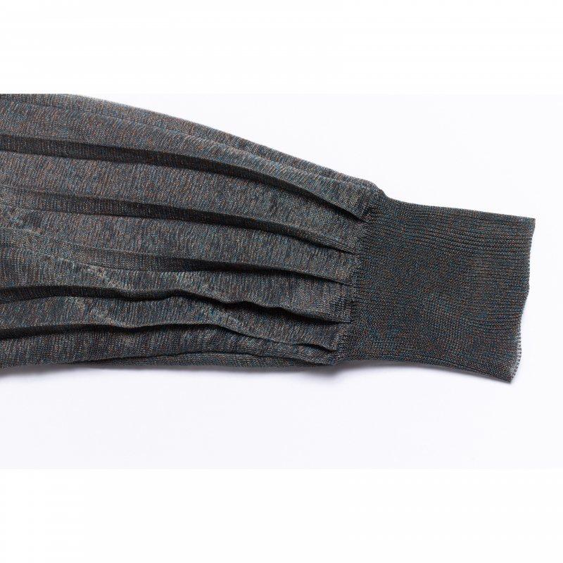 Shear Knit Cardigan(Black)