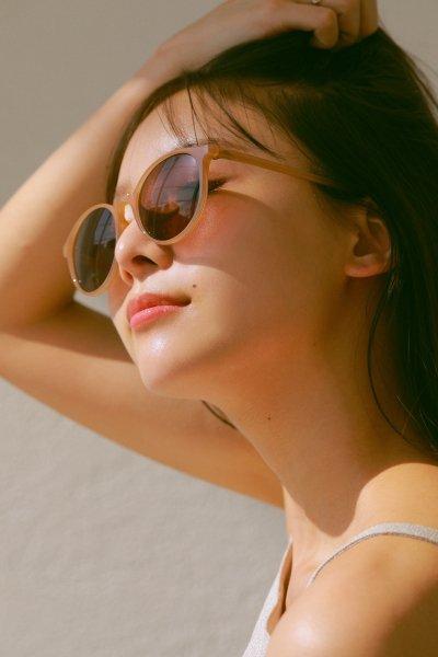 AMYER - Clear Flame Sunglass