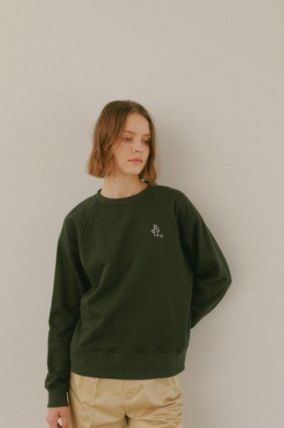 AMYER - Logo Sweat Shirt(Green)