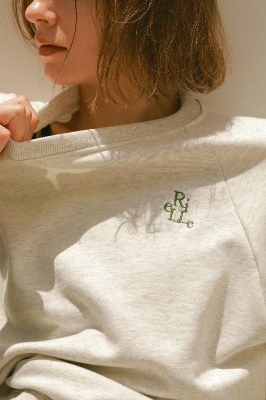 Logo Sweat Shirt(Oatmeal)