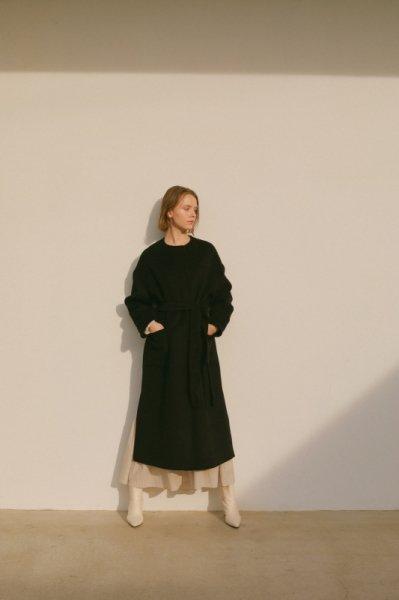 AMYER - No Collar Coat(Black)