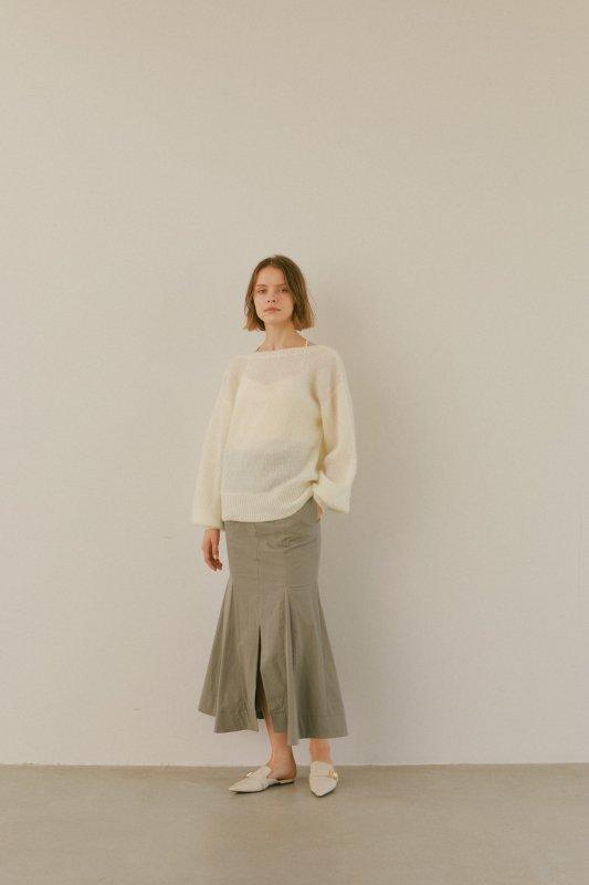 Mermaid Skirt(Gray)