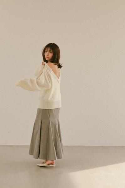 AMYER - Mermaid Skirt(Gray)
