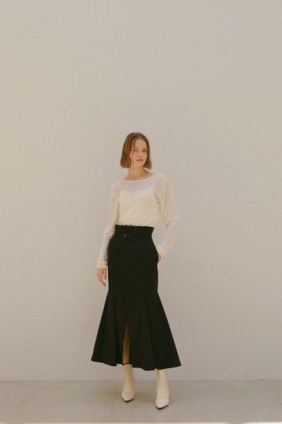 AMYER - Mermaid Skirt(Black)