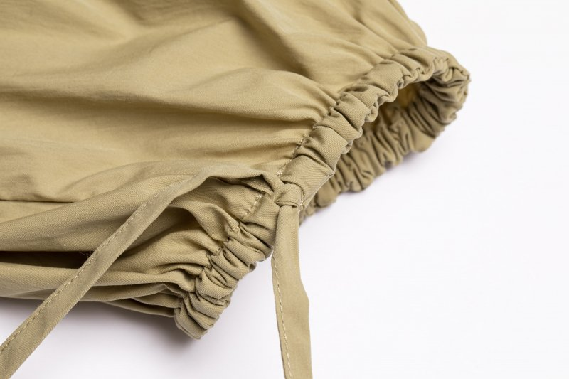 Pullover Gather Top(Beige)