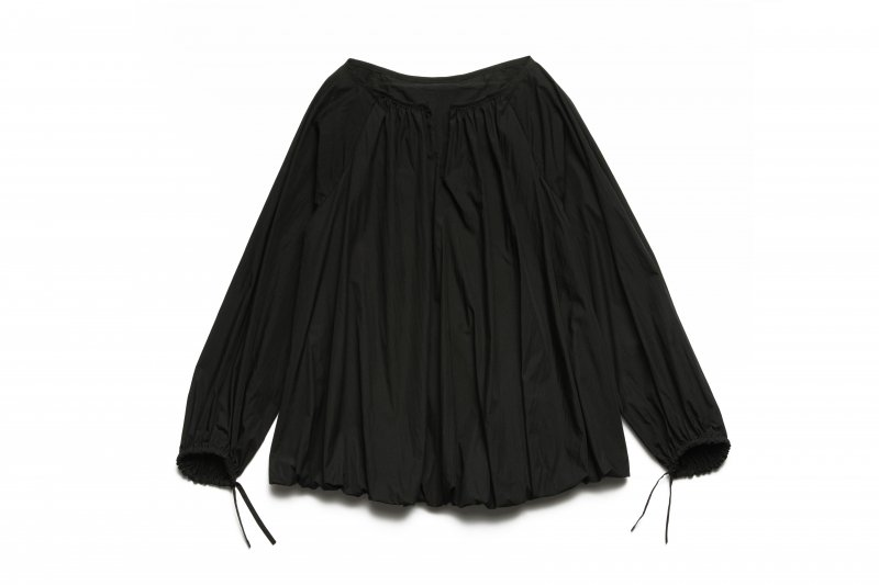 Pullover Gather Top(Black)