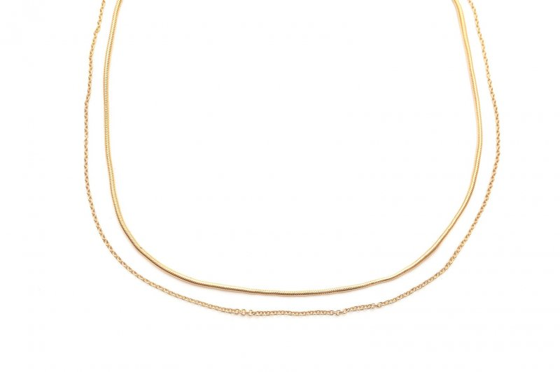 2way Neckless(Gold)