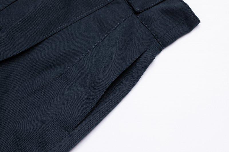 Stand Collar Set Up(Navy)