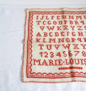 ハンガリーのヴィンテージ刺繍ABCサンプラー�