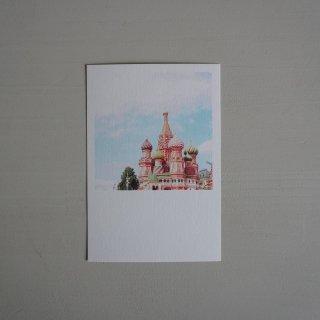 井岡美保撮影のポストカード 聖ワシリイ大聖堂