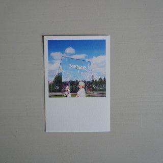 井岡美保撮影のポストカード 新トレチャコフ美術館
