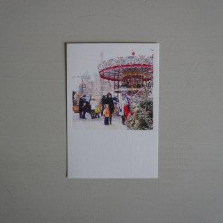 井岡美保撮影のポストカード クリスマスマーケット