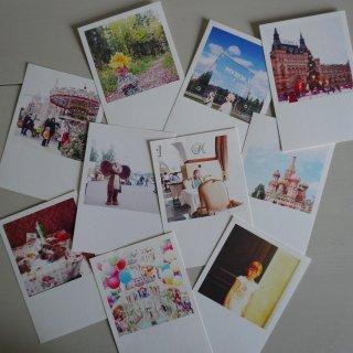 井岡美保撮影のポストカード 8枚入りアソート