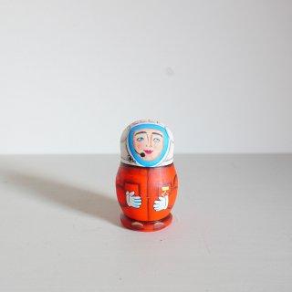 ニキーチン工房のマトリョーシカ 宇宙飛行士ガガーリン