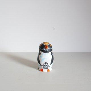 ニキーチン工房のマトリョーシカ ペンギン