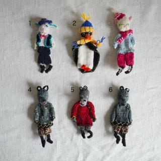 ターニャの指人形 動物色々