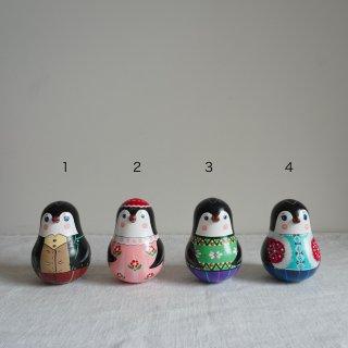 ラスカゾフファミリーのニバリャーシカ(おきあがりこぼし) ペンギン