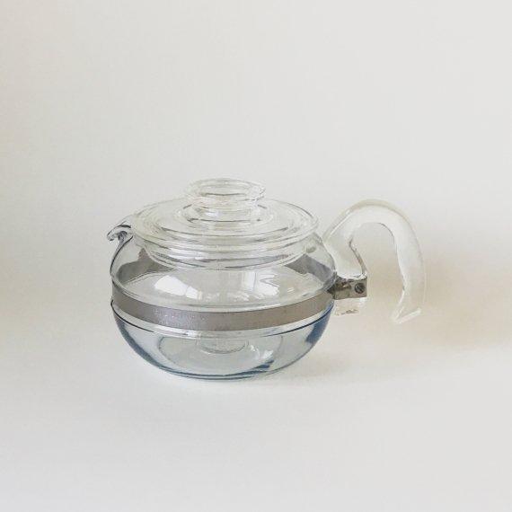 OLD PYREX GLASS TEA POT