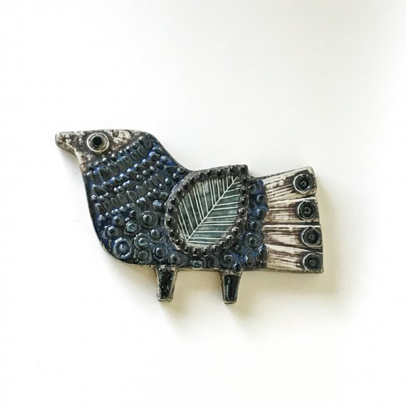 LISA LARSON WALL PLATE | BLUE BIRD