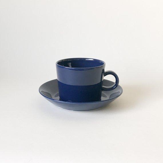 TEEMA CUP & SAUCER-L | navy