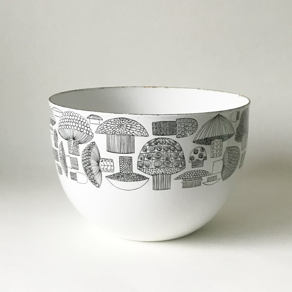 FINEL TATTI ENAMEL BOWL