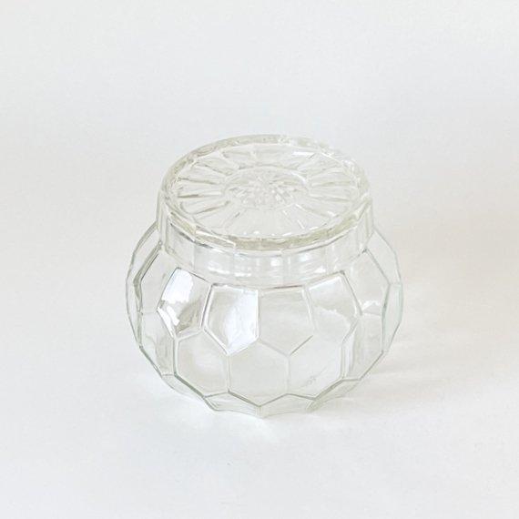 GLASS JAR HONEYCOMB