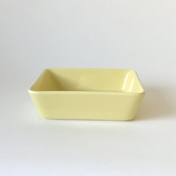 KILTA SQUARE PLATE | yellow