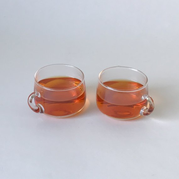 mini GLASS TEA CUP SET