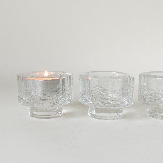 KUUSI GLASS CANDLE HOLDER