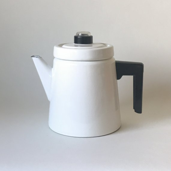 FINEL COFFEE POT L / white