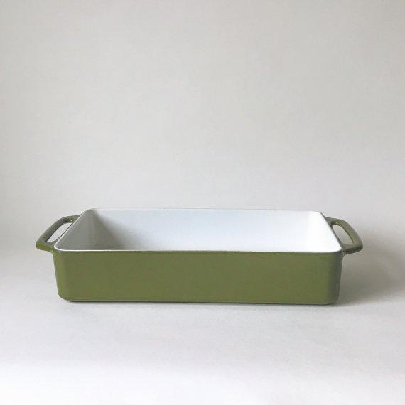 COPCO CAST IRON OVEN DISH | olive