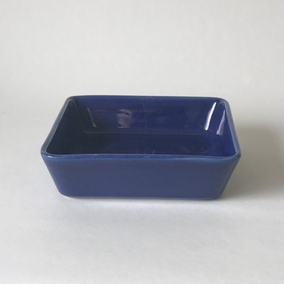 KILTA SQUARE DEEP PLATE - M | blue