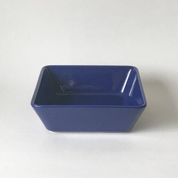 KILTA SQUARE DEEP PLATE - L | blue