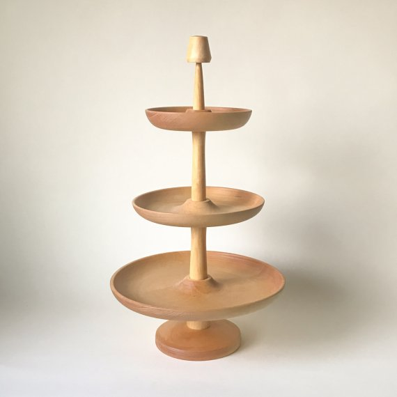 WOODEN PLATE + STAND | 3