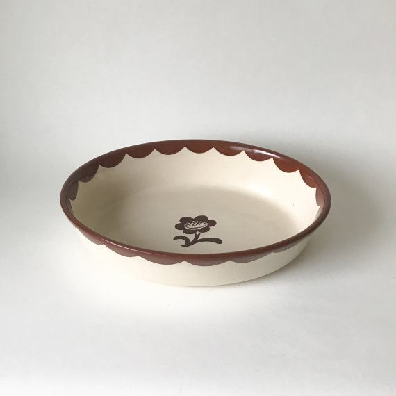 PYRO OVEN DISH   OVAL - L