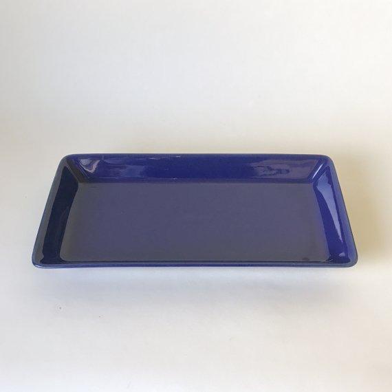KILTA SQUARE LONG PLATE | blue