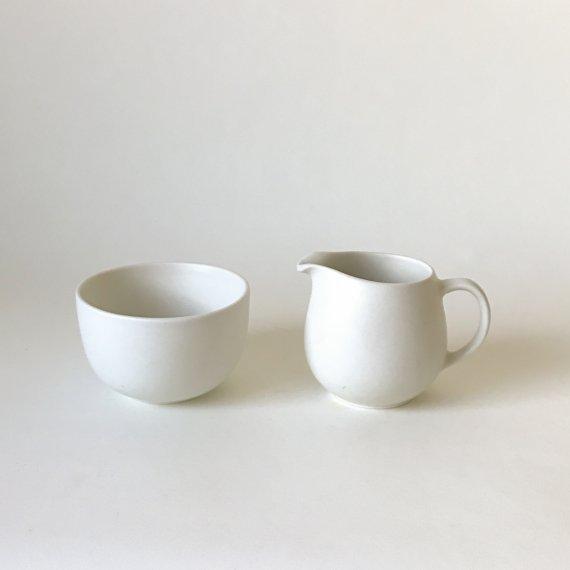 B-MODEL CREAMER & SUGAR BOWL | white